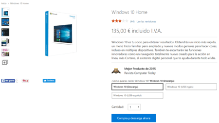 Comprar Windows 10