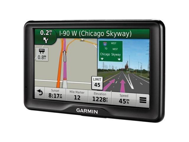 Garmin GPS conectado