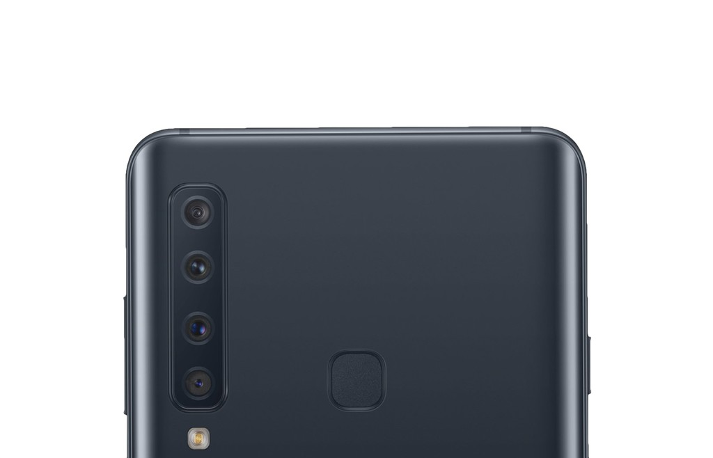 Las 4 cámaras traseras del Galaxy A9 llegan en una foto filtrada y demuestran que para Samsung® mas es preferible