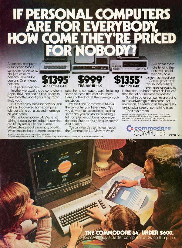 Commodore 64 Advertisement