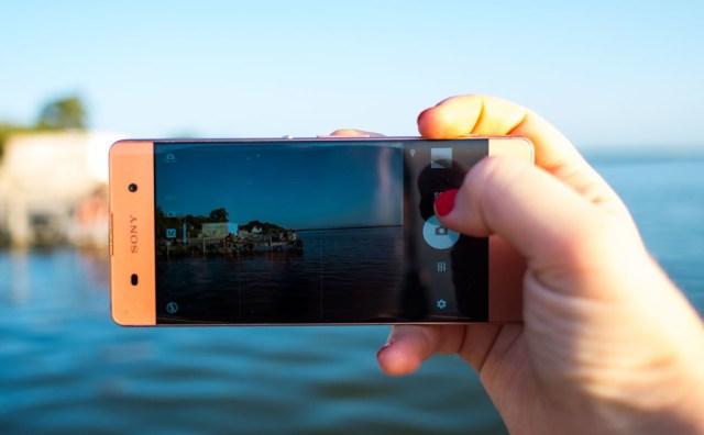 Sony Xperia® XA app cámara
