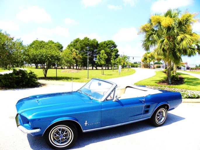 1967 Ford Mustang Convertible Pic 4020420458404452294