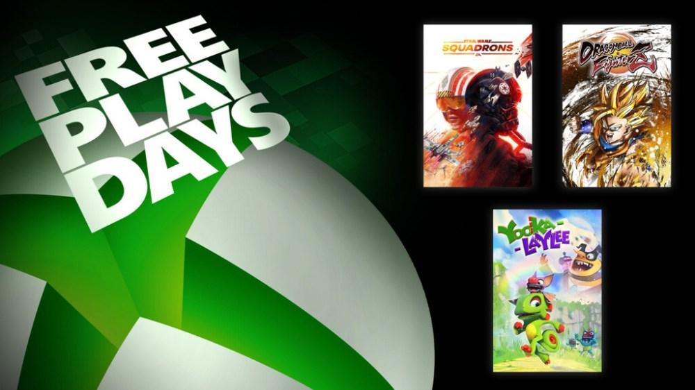 Star Wars: Squadrons, Dragon Ball FighterZ y Yooka-Laylee están para jugar gratis este fin de semana con Xbox Live Gold