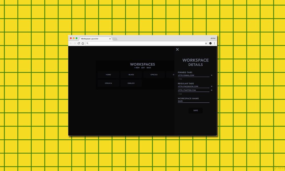 Crea espacios de trabajo fácilmente desde Chrome gracias a esta extensión minimalista