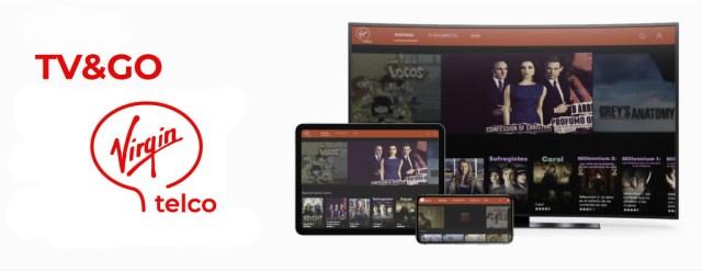 Virgin telco estrena la aplicación TV&GO para visualizar su televisión en móviles, tablets y ordenadores