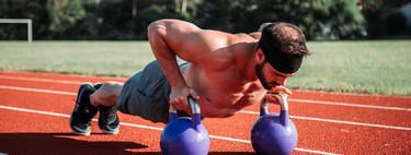 Fat burning training with kettlebells or kettlebells