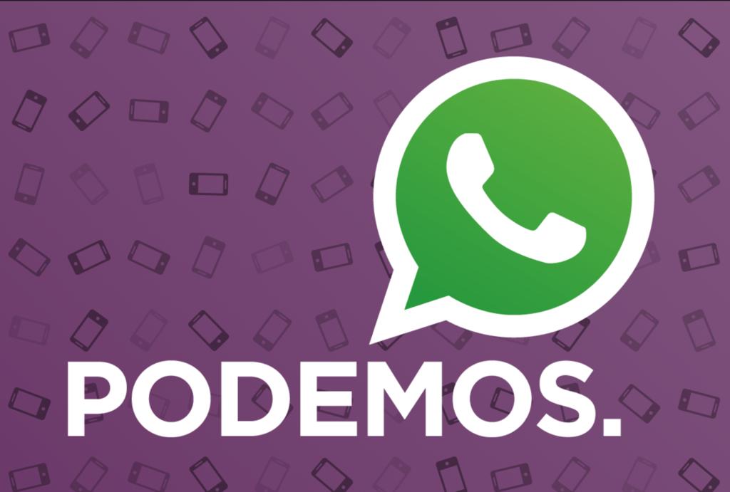 WhatsApp cierra el canal de Podemos por efectuar envíos masivos, sin embargo el partido defiende que ha hecho todo correctamente