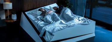 Ford usó su tecnología de asistencia de cambio de carril para inventar una cama que evita que las individuos invadan el lado opuesto