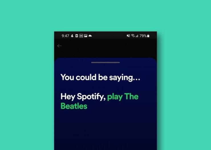 'Hey Spotify', el asistente de voz propio de Spotify funciona sólo dentro de su app y permite controlar la música mediante voz