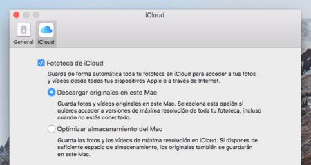 Fotos Mac Preferencias Icloud