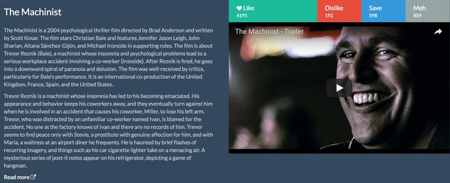 Window Y Donnie Darko Similar Movies Recommendations