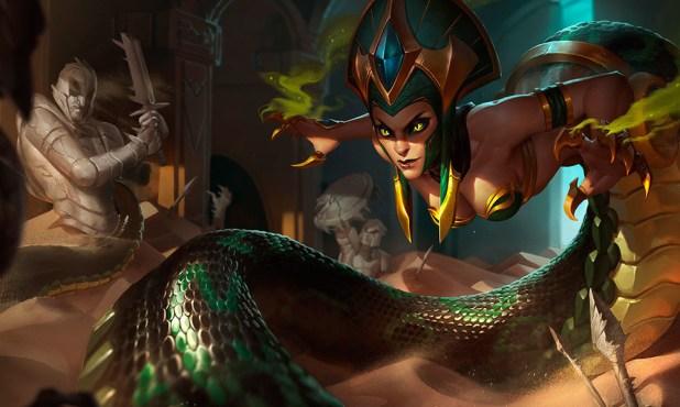 Con su rework a la runa del Conquistador, el LoL abre la puerta a los magos como Cassiopeia en top