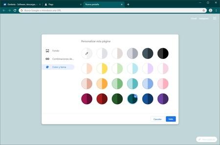 Cambiar Los Colores De Google Chrome