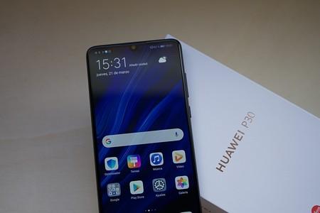 Huawei P30 Review Pantalla