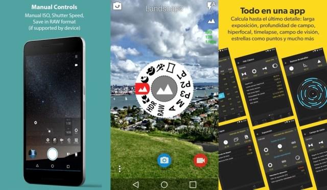 Aplicaciones Camara Android Pro