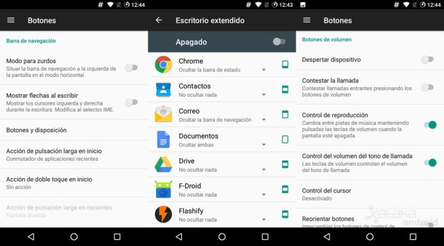 Botones Android