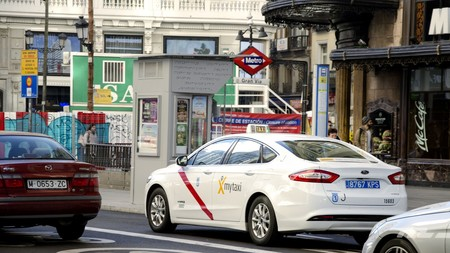 Madrid taxi