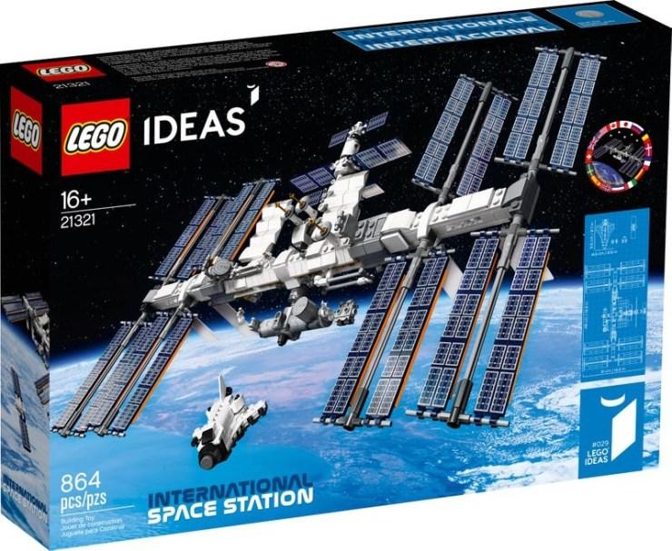 Estación Espacial Internacional de LEGO