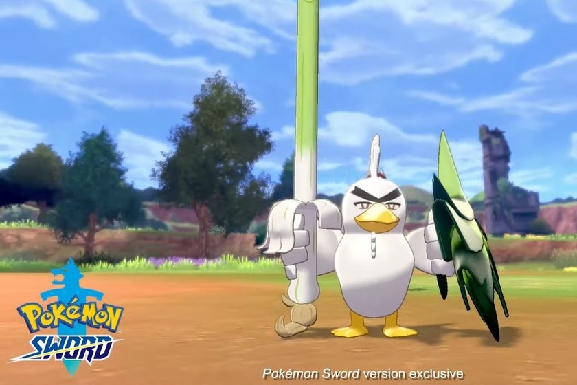 Pokémon Espada y Escudo revelan a Sirfetch'd. ¡Farfetch'd tendrá por fin una evolución!