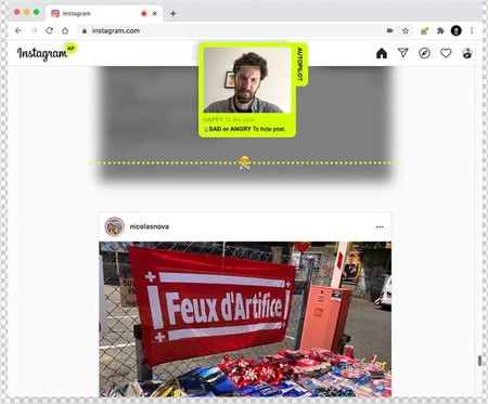 Window Y Instagram Autopilot Scroll Like And Hide Posts With Your Face Product Hunt