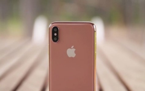 Iphone X Rosa Blush Gold
