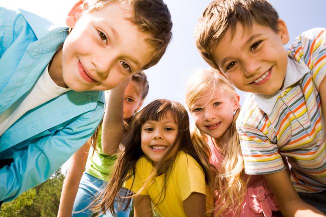 niños-en-verano