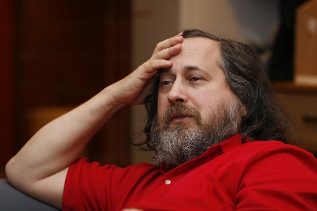 Richard Stallman By Anders Brenna 01
