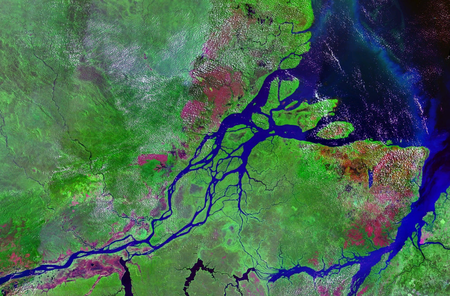 Mouths Of Amazon Geocover 1990