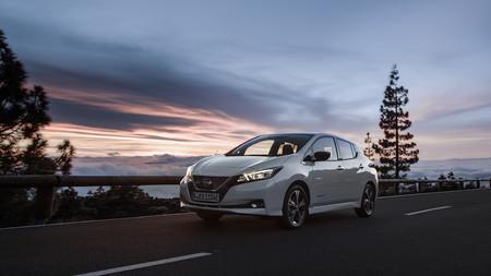 Nissan Leaf 2018 Blanco