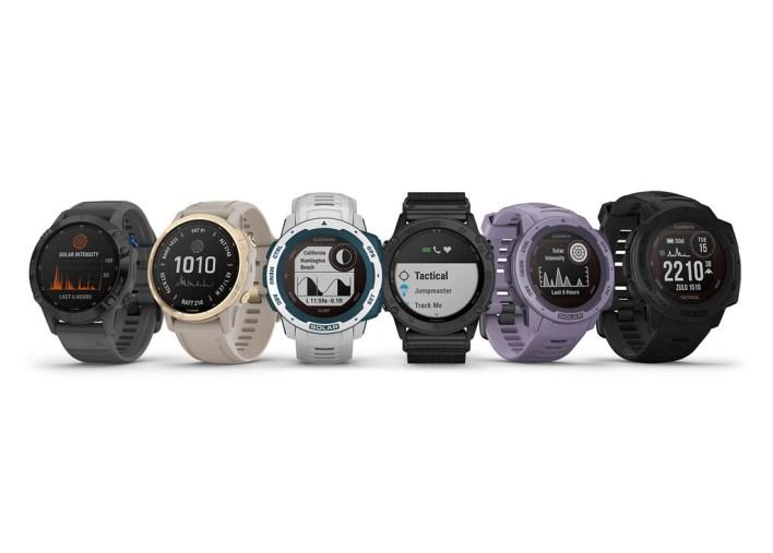 Garmin añade carga solar a varios de sus relojes cuantificadores: