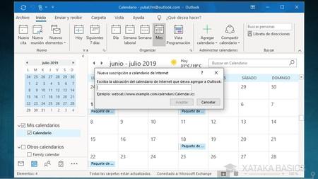 Vincular Calendario