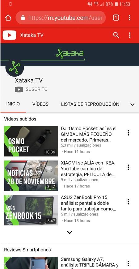 Webapp Youtube