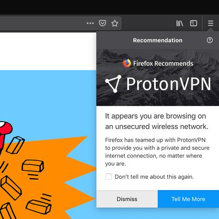 Mozilla começará a oferecer um serviço de VPN para usuários do Firefox