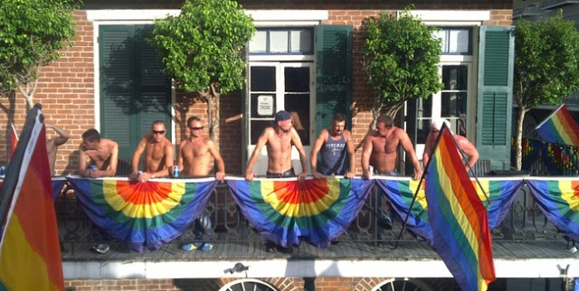Shirts Off At Southern Decadence