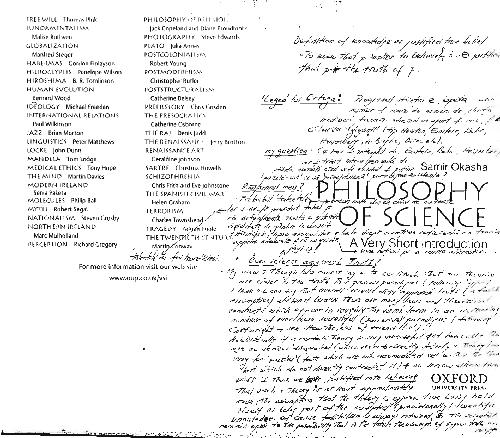 Philosophy Of Science A Very Short Introduction Pdf