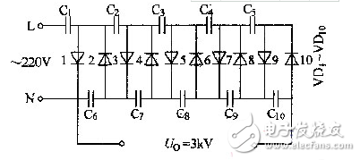 Self-made capacitor boost circuit diagram Daquan (five