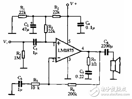 [Photo] Current feedback power amplifier circuit