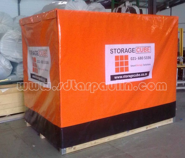 Uv Resistant Waterproof Pallet Cover Tarp Pvc China