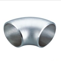 China SS316 stainless steel 90 degree pipe elbow