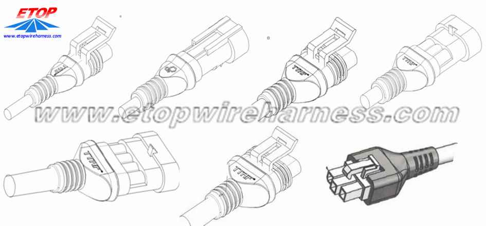 China Molded Connectors For Automobile Manufacturers