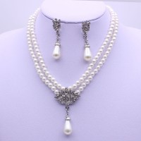 China Wholesale Cheap Pearl Necklace and Earring Jewelry ...