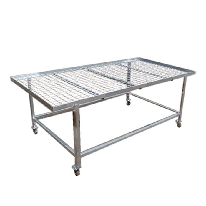 Fixed Top Greenhouse Bench China Manufacturer