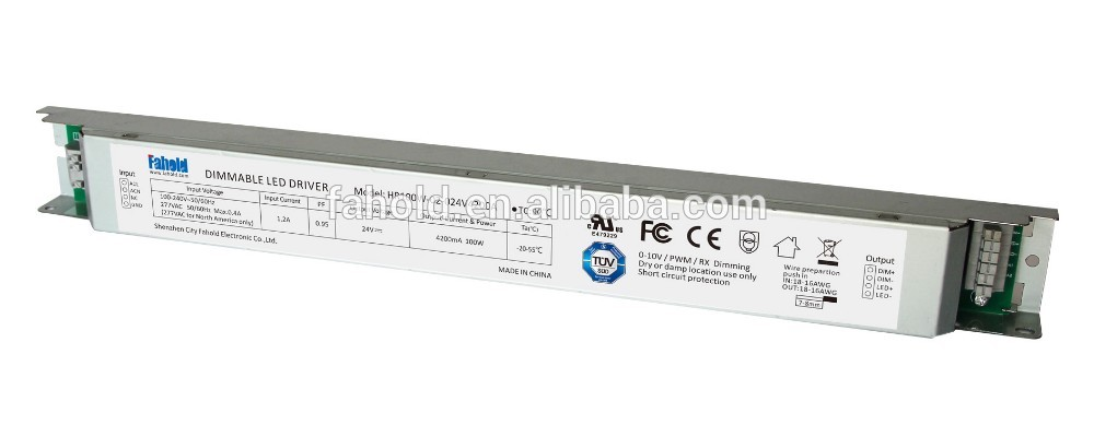 power supplies 24V /12V dimmable led driver 100W China