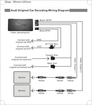 andriod Headrest DVD player For Audi, Lexus, BMW 101 inch