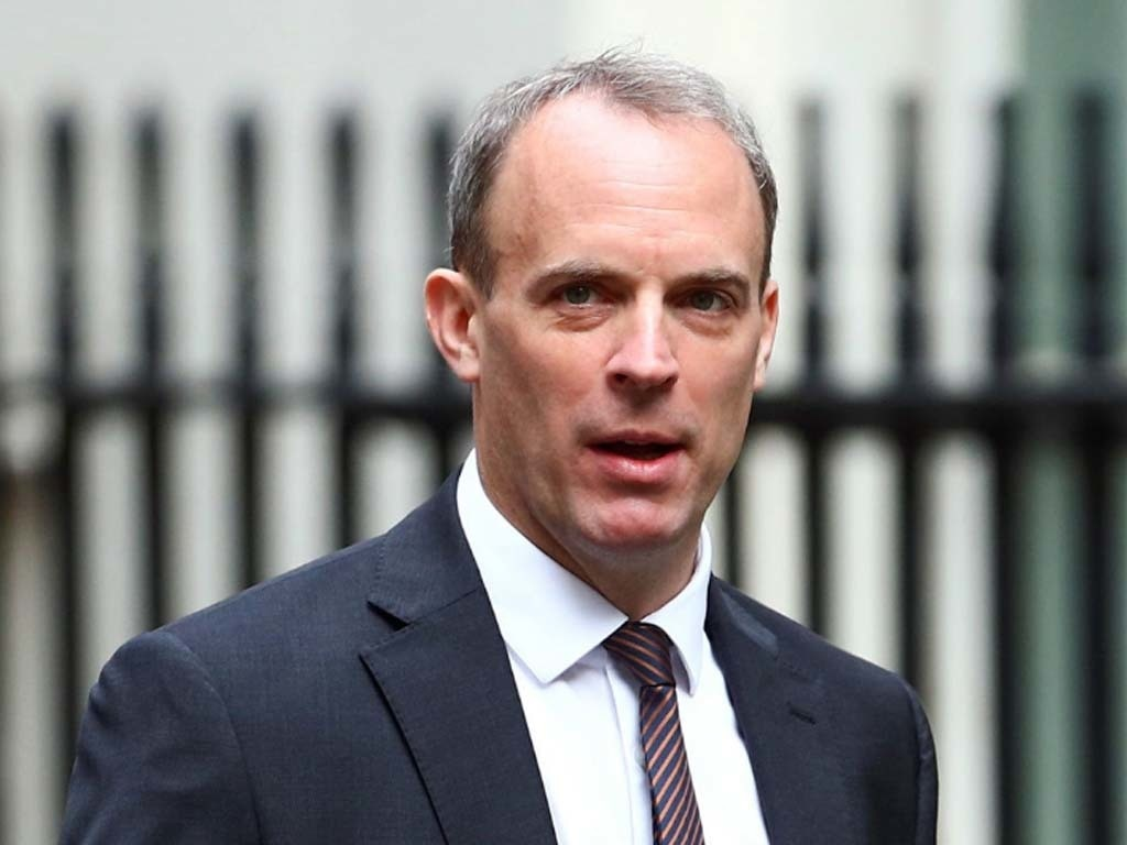 UK's Raab says China's changes in Hong Kong breach Joint Declaration - World - Business Recorder