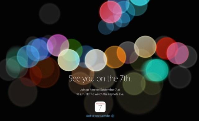 iPhone7event