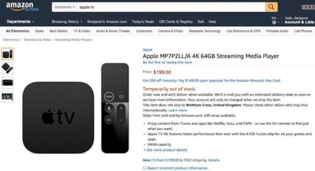 AppleTVAmazon