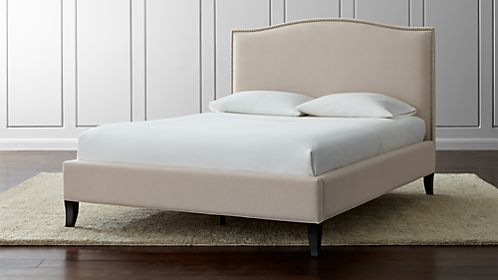 calphalon kitchen outlet door knobs and pulls beds: headboards bed frames   crate barrel