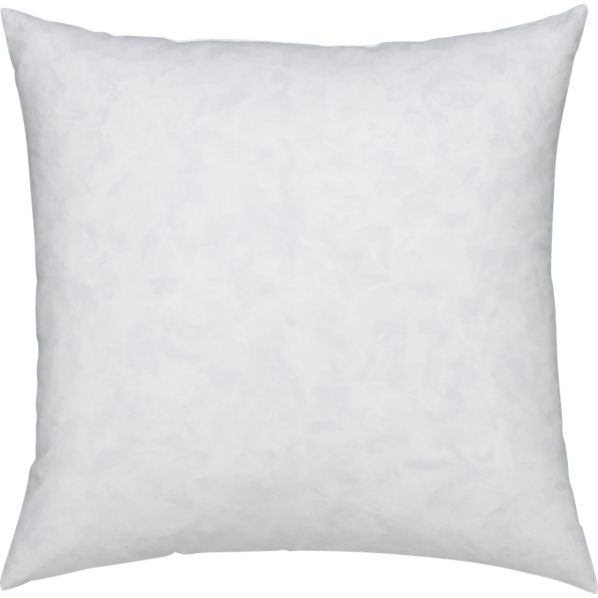 FeatherDown 18 Pillow Insert  Crate and Barrel