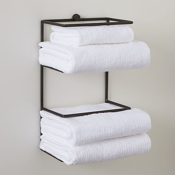 Bathroom Towel Shelves Wall Mounted With New Creativity In